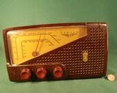Zenith Radio AM FM Tube Type Bakelite Vintage Old Collectible