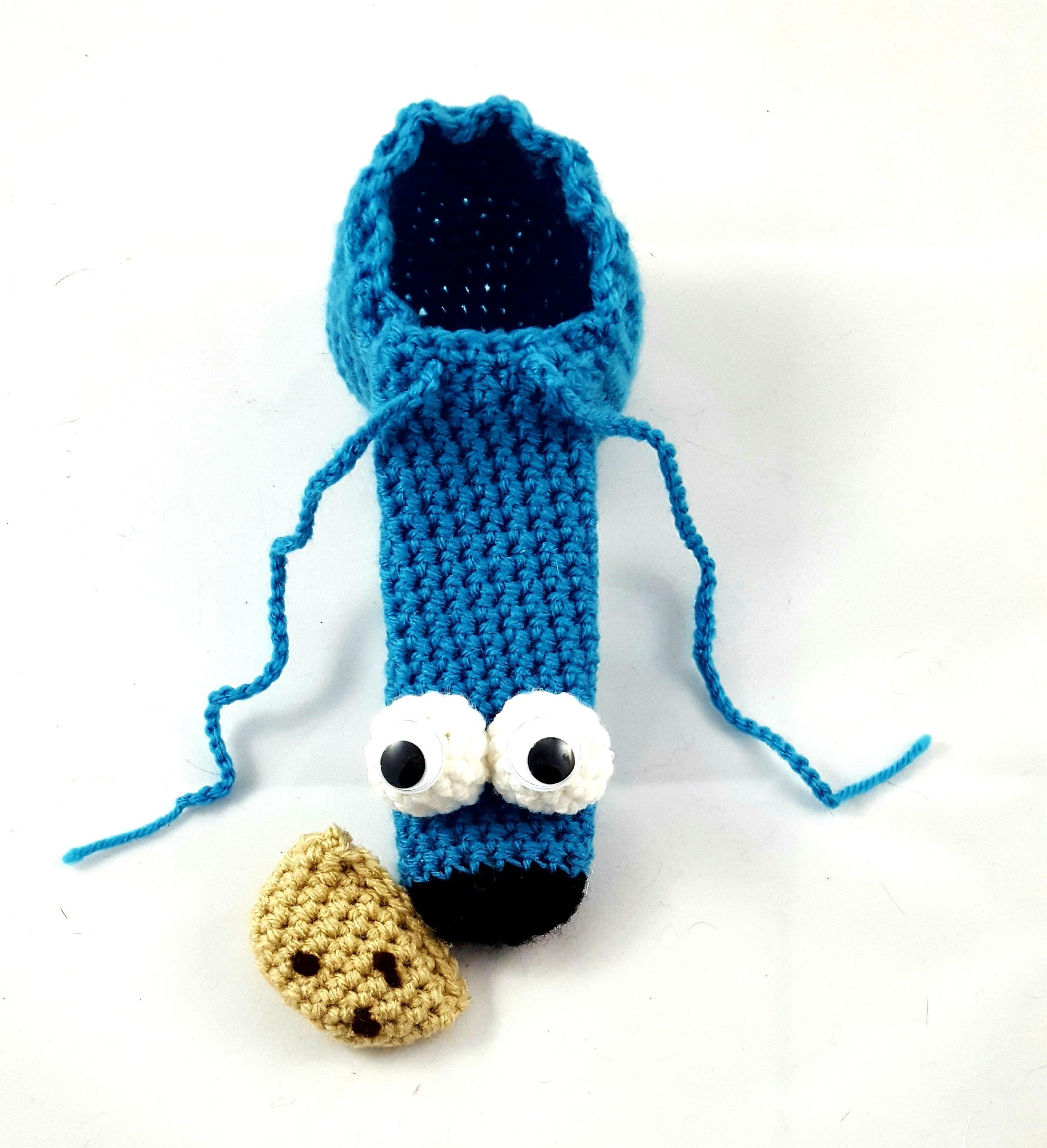 Hahn Cookie Monster Schwanz Socke Willy wärmer Cookie | Etsy