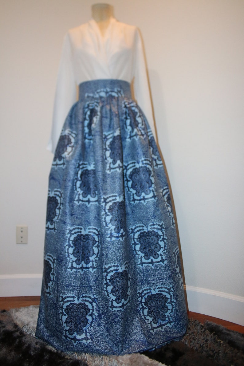 Customer Favorite Shine African Print Ankara Skirt Women/'s Clothing Maxi Africa Print Dress Dashiki Dress Vintage