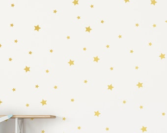 420 Tiny Twinkling Stars Vinyl Wall Decal Pattern: Hundreds of Stars, Constellation, Space Nursery Decor, Night Sky, Astronomy Bedroom