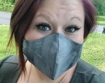 3 pack of Face Masks with Filter Pocket, Reversable