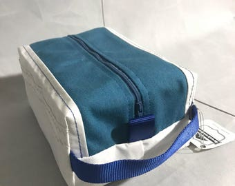 Custom Sail Cloth Toiletry Bag