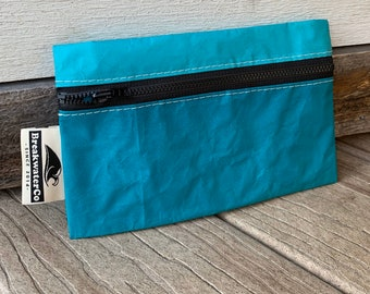 Zipper Bag made from Recycled Sailcloth