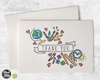 Preschool - School Thank You Cards