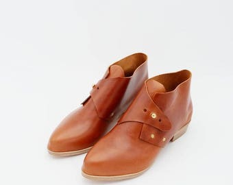 The Mussenden.  Fieno. 3cm. Handmade Boots. Comfort Shoes. Soft Shoes.