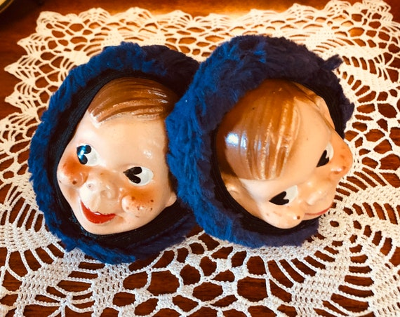Rare 1950's Howdy Doody Composition Doll Face Ear