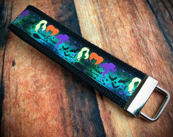 Details about  /Hocus Pocus Key Fob Keychain Handmade