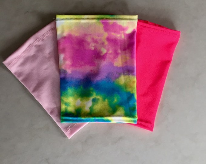 Pretty in Pink 3 Pack Picc Line Covers           (Includes pale pink, hot pink, rainbow tie dye)