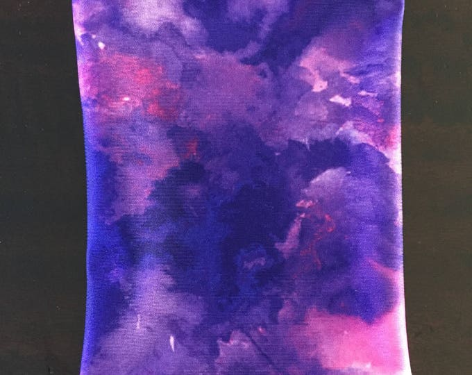 Purple Tie Dye Picc Line Cover
