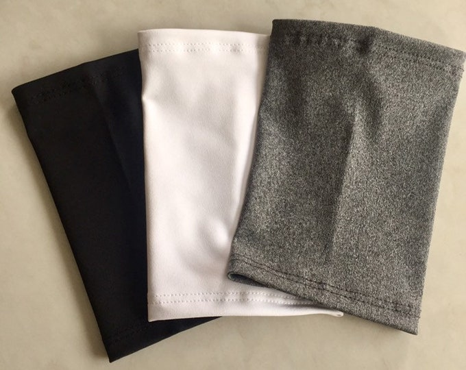Aya Picc Line Covers- 3 Cover Package includes black, white and grey covers
