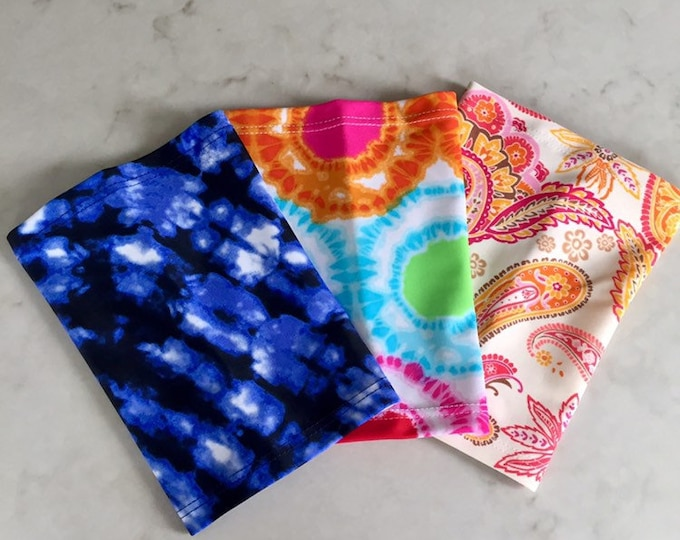 Terrific 3 Pack Picc Line Covers-Includes paisley, blue tie dye and bright tie dye covers