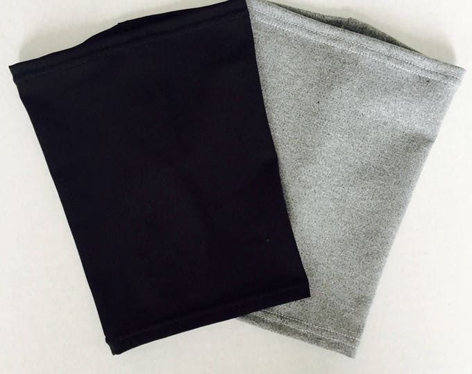 2 pack grey and black picc line covers-perfect pack to go with any outfit!