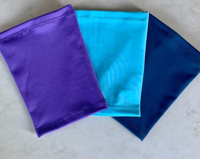 Bold 3 pack picc line covers-turquise blue, purple and navy covers to go with your favorite outfits!