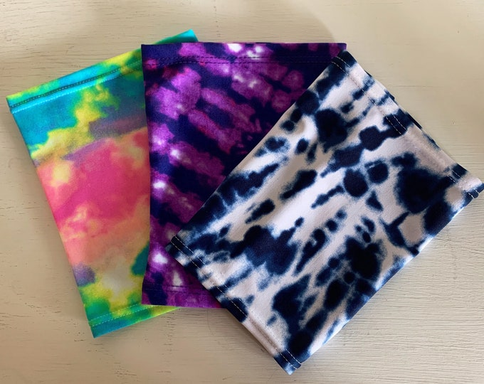 Totally Tie Dye 3 Pack Picc Line Covers           (Includes blue, purple, rainbow tie dye)