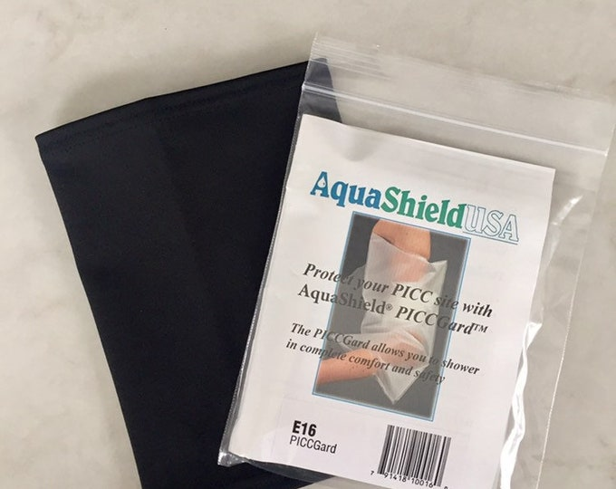2 Pack Picc Line Cover to include, cover for shower use and black cover