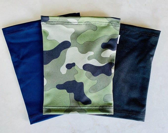 3 Picc Line Cover Package Includes black, navy and camouflage