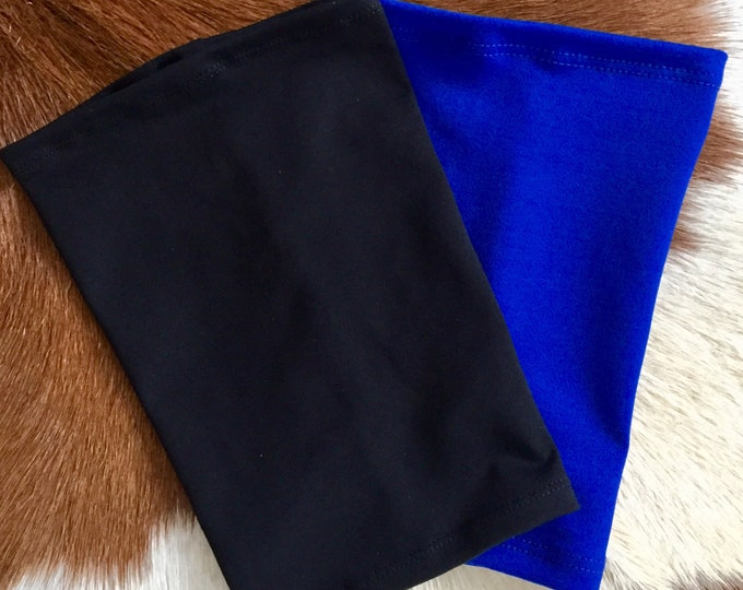 2 pack royal blue and black picc line covers-perfect pack to go with any outfit!
