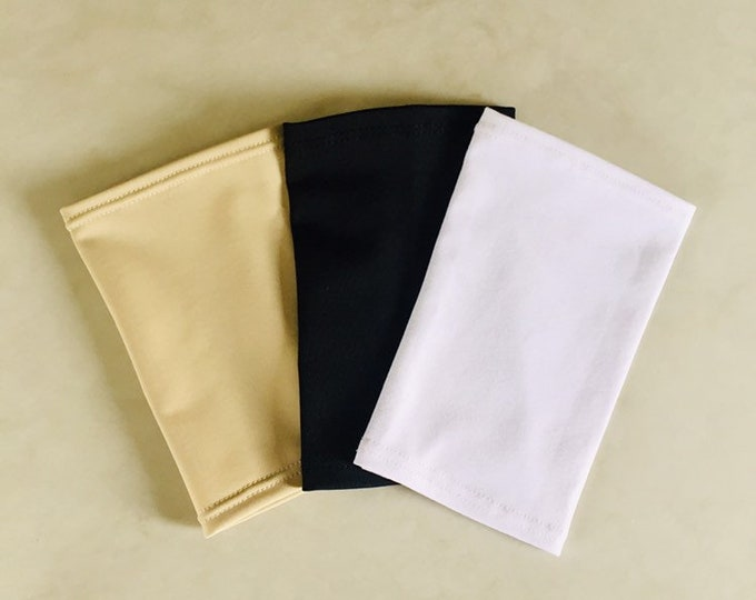 Neutral 3 Pack Picc Line Covers          Includes Black, Beige, White Covers