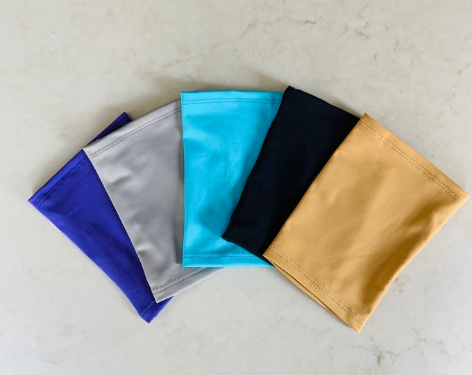 Fabulous 5 Pack Picc Line Covers-grey, black, beige, turquoise and purple covers