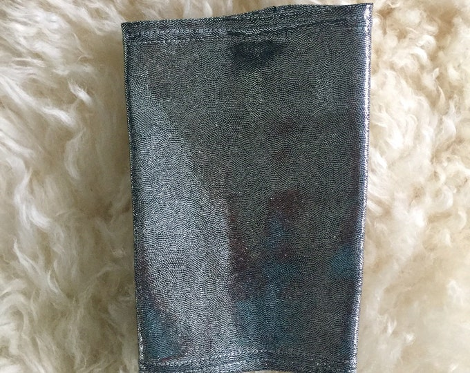 Silver Picc Line Cover Sleeve-Tis the Season to Get your Bling On! Silver shimmer picc line cover, perfect to go with your holiday outfit!