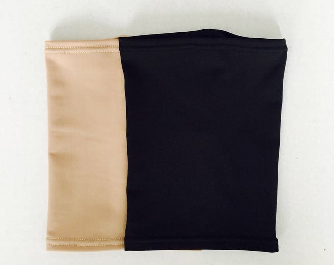 2 pack nude and black picc line covers-perfect pack to go with any outfit!
