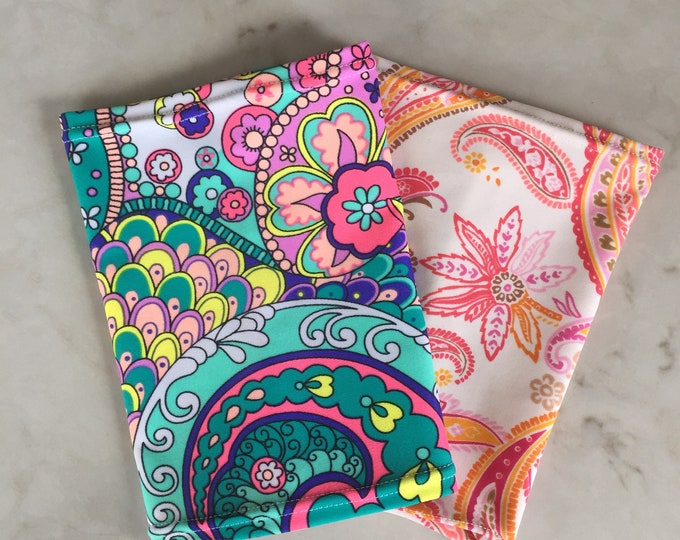 Paisley Pack -2 pack picc line covers