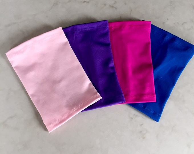 Bright Fun Four Pack Picc Line Covers-includes hot pink, pale pink, purple and royal blue