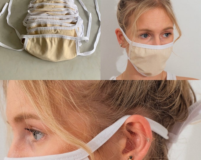 20 Pack Face Mask-Includes 20 Cotton Face Masks-3 Layers With Filter Pocket