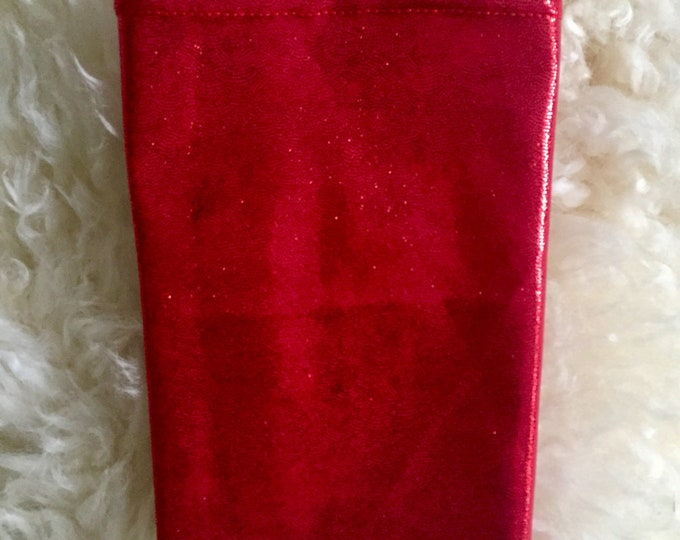 Picc Line Cover Sleeve Tis the Season to Get your Bling On! Red shimmer picc line cover, perfect to go with your holiday outfit!