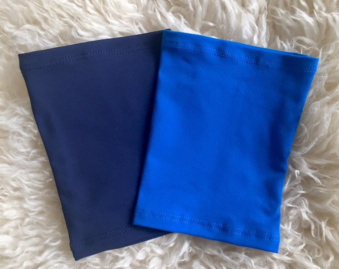 2 Pack Royal Blue and Navy Picc Line Cover-perfect pack to go with any outfit!