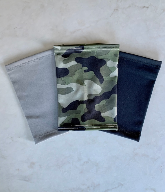 Hide That Line-2 pack white and grey picc line covers