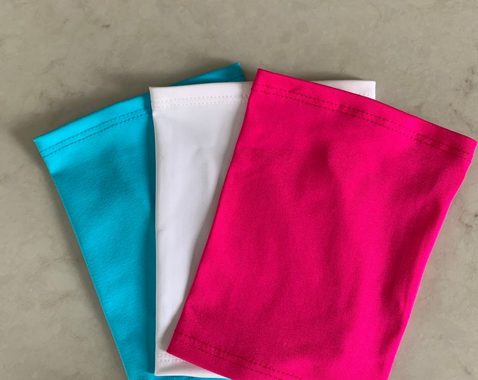 3 Pack Picc Line Covers (Includes turquoise, white and pink covers)