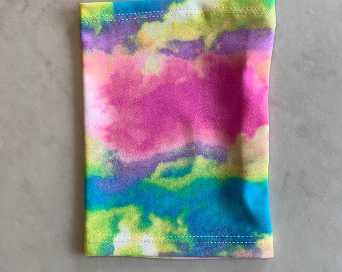 Rainbow Tie Dye Picc Line Cover