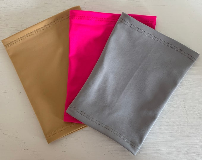 3 Pack Picc Line Covers-includes grey, pink and beige covers