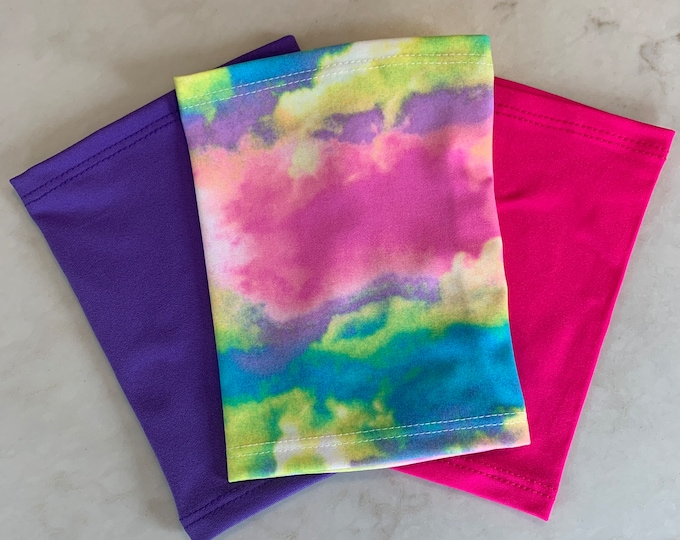 Beautiful and Bright 3 Pack Picc Line Covers-Rainbow, Pink and Purple Covers