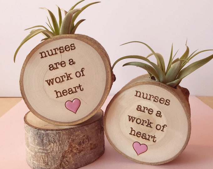 Nurses are a work of heart