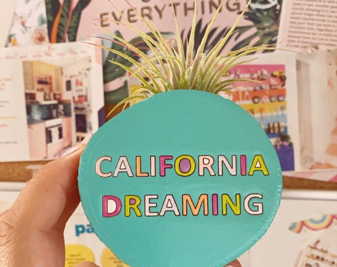 California Dreaming Magnet (planter)