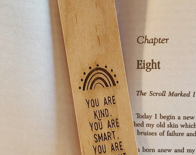 You are kind. You are smart. You are important. (Bookmark)