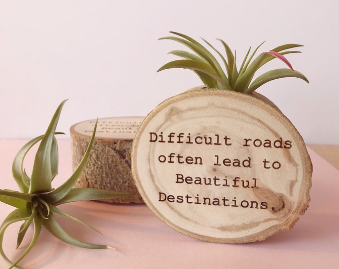 Difficult roads often lead to beautiful..