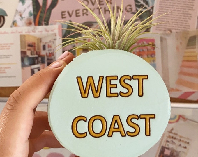 West Coast (California) planter