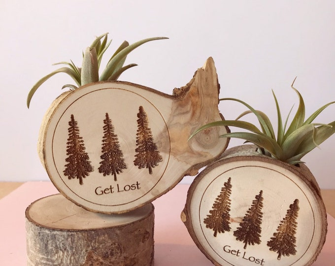 Get Lost Air Plant Magnet