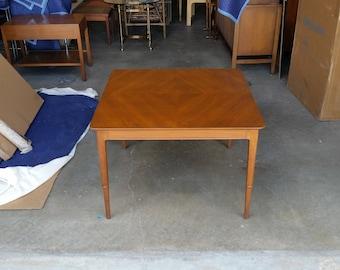 Vintage 1960u0027s John Stuart Coffee Table Mid Century Modern Janus Collection  Walnut Inlay Good Condition MCM