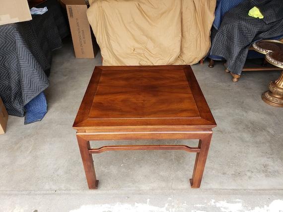 Enjoyable Vintage 1970S Henredon Folio 16 Coffee Table Asian Style Mid Century Walnut Koa Wood Tremendous Quality Andrewgaddart Wooden Chair Designs For Living Room Andrewgaddartcom