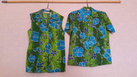 Vintage 1950's Authentic Royal Hawaiian Shirts Mid