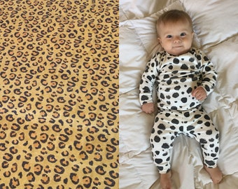 e2f5f0e14033 Leopard Kids Costume - Organic Leopard Shirt & Leggings for Halloween. Leopard  Baby Costume. Leopard Baby Outfit. Leopard Pajamas.