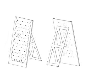 Plinko Game Board DXF Files & Plans