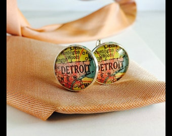 Detroit Cuff Links