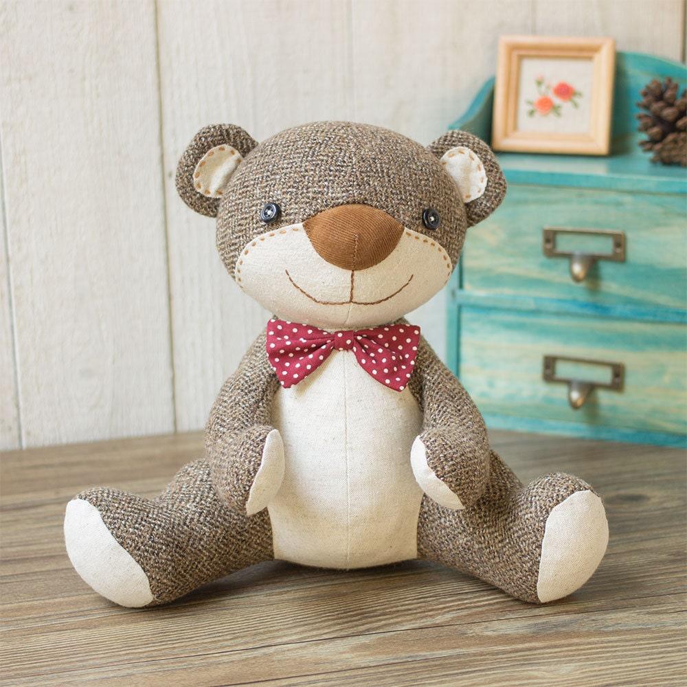 McCalls Sewing Pattern L9547 ML9547 Stuffed 18 Easy Bear Vest Memory Bear