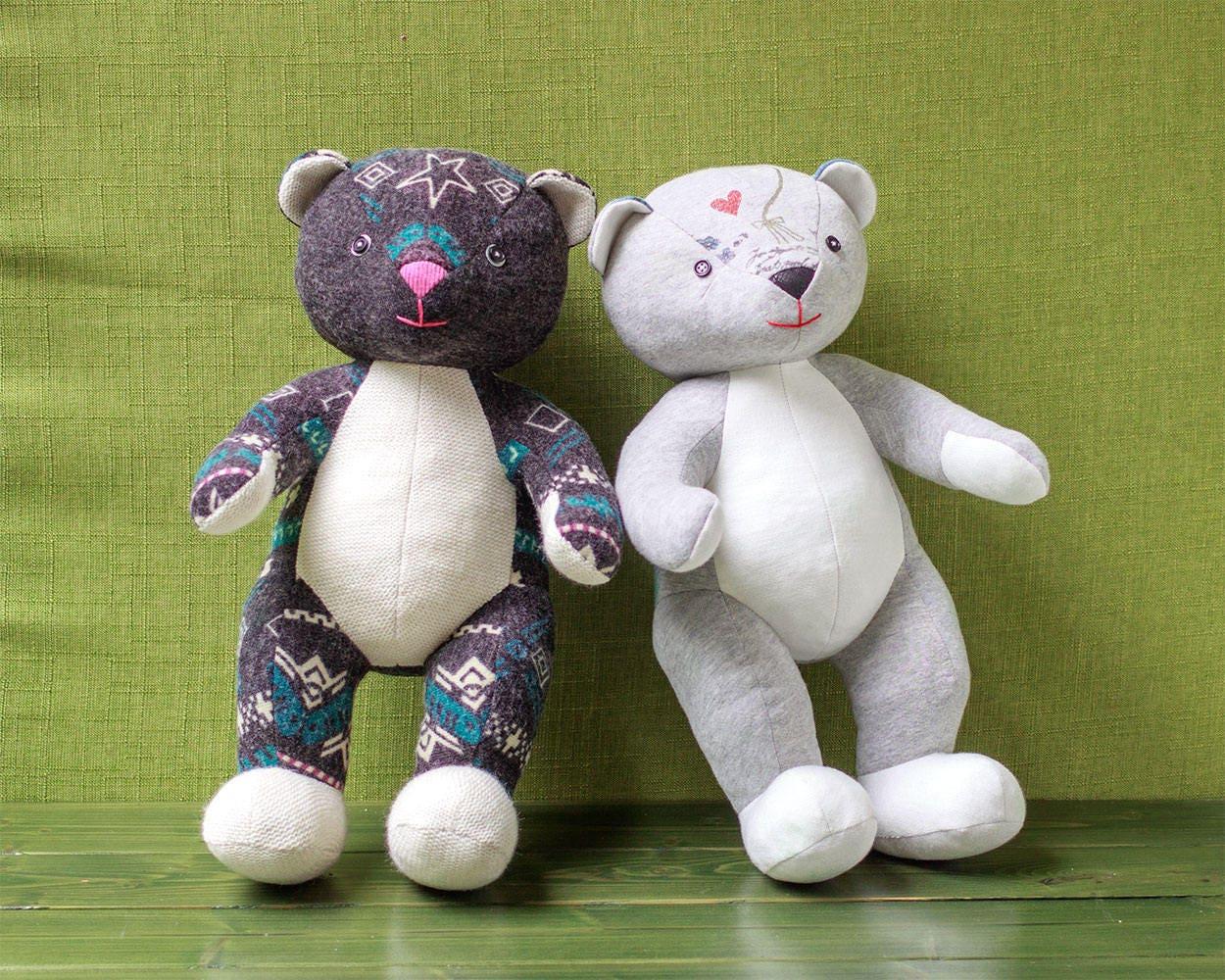 Memory Bear Sewing Pattern