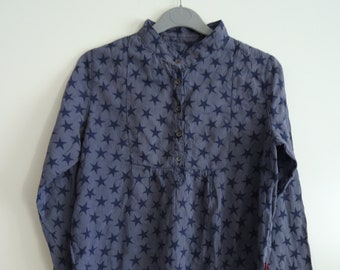 Shirt Blue KICKERS / star size 12